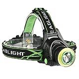 PQZATX LEDのヘッドライト?ランプ、ヘッドライト、10Lm Xm-L2 T6 Cob Micro-Usb充電器野ヘッドライト?ランプ、ポータブル、ライト、トーチ、ランタン