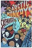 IOIP Leinwand Bedrucken 50x70cm Kein Rahmen Arctic Monkeys