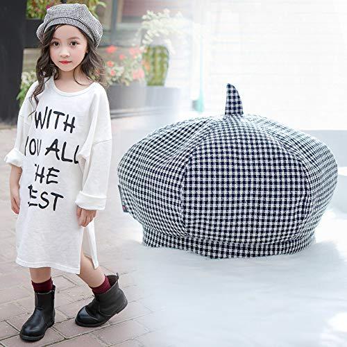 Geiqianjiumai Nuevo Sombrero periódico Cuadros niños