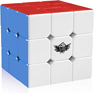 D FantiX Cyclone Boys 3x3 Speed Cube Stickerless Magic Cube 3x3x3 Puzzles Toys, 56mm