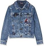 Tommy Hilfiger Boys Denim Jacket Easmbst Chaqueta, Azul (Eagle Salt Mid Blue Stretch...