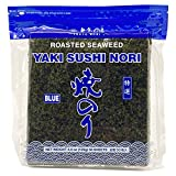 Tokyo Nori Sushi Nori Sheets - 50 Full Sheet - Medium Roasted Seaweed Sheets - Tender Nori Sheets for Sushi
