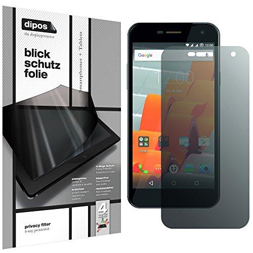 dipos I Blickschutzfolie matt kompatibel mit Wileyfox Spark Sichtschutz-Folie Bildschirm-Schutzfolie Privacy-Filter
