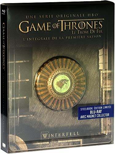 Game of Thrones (Le Trône de Fer) - Saison 1 - Blu-ray - HBO [SteelBook édition limitée - Blu-ray + Magnet Collector]