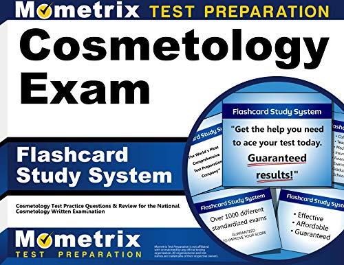 Cosmetology Exam Flashcard Study System: Cosmetology Test Practice Questions & Review for the National Cosmetology Written Examination (Cards)