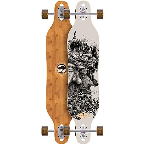 Arbor Longboard Axis Bamboo Collection 40 Zoll (101,6cm), Size: 28,75 Zoll - (73cm)