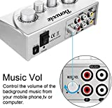 Immagine 2 mixer karaoke bonvvie audio microfono