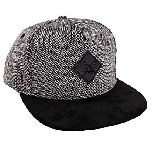 Blackskies Snapback Cap mit Stick oder Floralen Muster Unisex Baseball Mütze, Bliss, Einheitsgröße