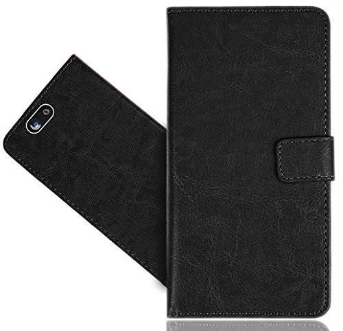 Wileyfox Spark/Spark+ / Spark Plus Handy Tasche, FoneExpert® Wallet Hülle Flip Cover Hüllen Etui Hülle Premium Ledertasche Lederhülle Schutzhülle Für Wileyfox Spark/Spark+ / Spark Plus