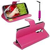 VComp-Shop® Case cover pour LG G2 D802 Housse Portefeuille Etui Clapet Folio Livre Rabat Support...