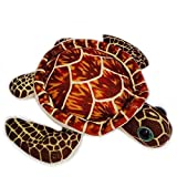 Smilesky Plush Tortoise Sea Turtles Stuffed Animals Toys Turtle Figures Brown
