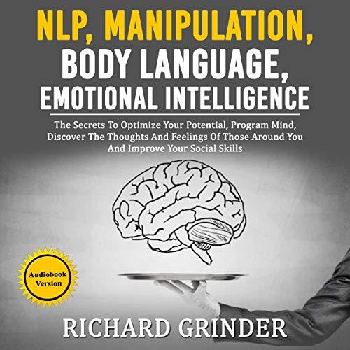 NLP, Manipulation, Body Language, Emotional Intelligence cover art