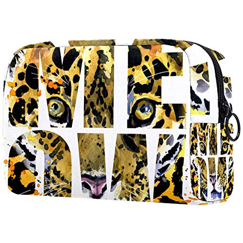 Trousse de toilette pour femme Motif léopard