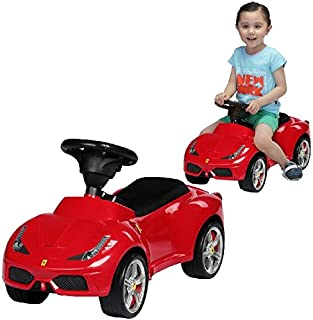 Primo Passi Ferrari 458 Speciale A Foot to Floor Ride On car, Red