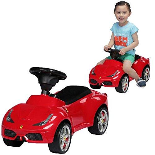 rastar Ferrari 458 Tretspielzeug, Auto – Spielzeug-Fahrzeuge (Tretspielzeug, Auto, 4 Räder, rot, für Kinder, Junge und Mädchen)