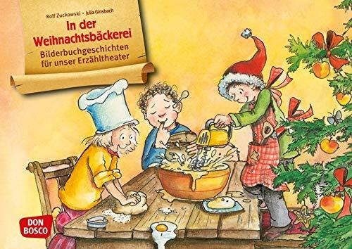 In der Weihnachtsbäckerei. Kamishibai Bildkartenset. Entdecken - Erzählen - Begreifen. Bilderbuchgeschichten für unser Erzähltheater