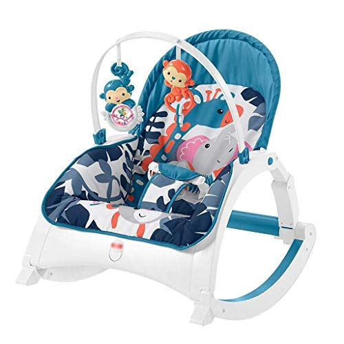 Why Should You Buy AZZ Children's Rocking Chair, Baby Bouncer Manual Swing, Electric Appease Vibrati...