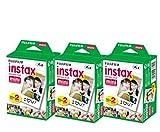 60feuilles Fujifilm Instax film instantané pour mini 8–9et tous les appareils...