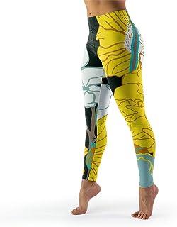 IOVEQG Women's Digital Print Yoga Pant Wrokout Skinny Pants Butt Lift Tights