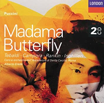 Puccini: Madama Butterfly (Erede)