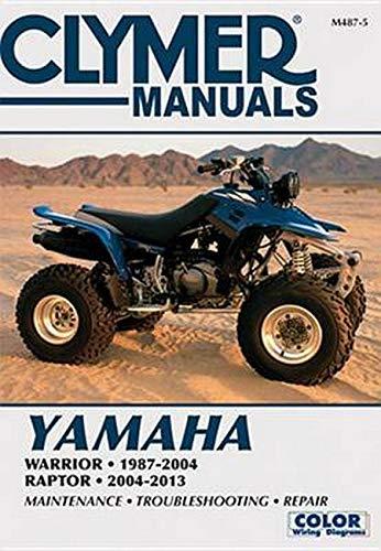 Yamaha Warrior & Raptor ATV Manual (Clymer) (Clymer Manuals)