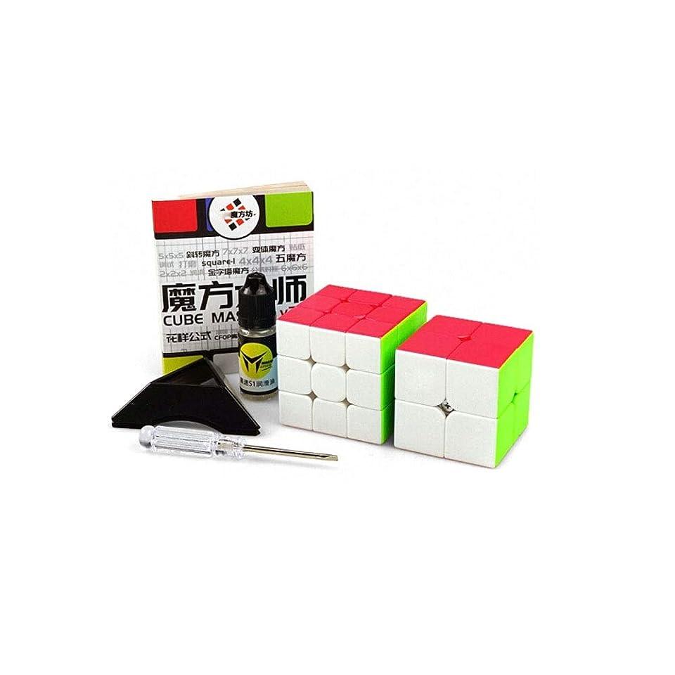 幸運なことに興奮尊敬Youshangshipin 滑らかで高品質のルービックキューブを使用したルービックキューブは、贈り物として適した、ゲームとして使用することができます(2次/ 3次) 良い材料 (Edition : Second order and third order)