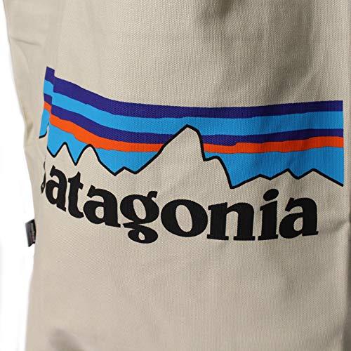 [patagonia(パタゴニア)]トートバッグMarketToteバッグ鞄ロゴホワイトキャンバストラベルキャンプ登山59280PLBSFA19[並行輸入品]
