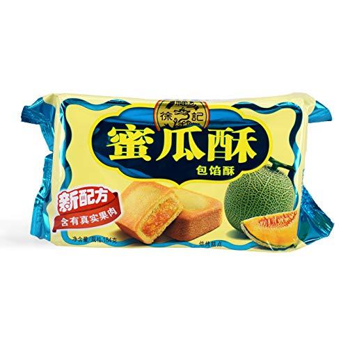 XuFuJi Cookie 徐福记 蜜瓜酥 Melon Cookie 182g (pack of 2)