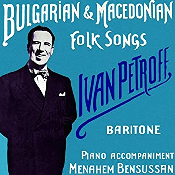 Bulgarian and Macedonian Folk Songs