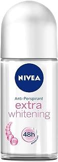 Nivea for Women Extra Whitening Pore Minimizer Antiperspirant Deodorant Roll-On (50ml)