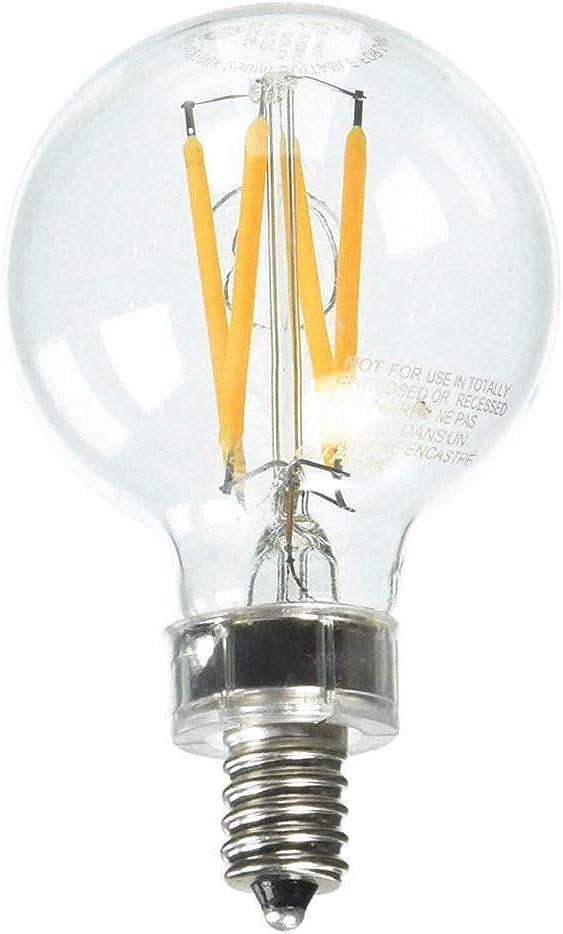 LED3DFGC-GC-2 LED Bulb G16.5 National uniform free Our shop most popular shipping 2700K PK2 lm 3W 250