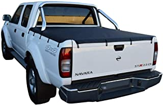 Toyota Hilux SR5 A-Deck (2003 to Mar 2005) Double Cab with Factory Sports Bars Bunji Tonneau Cover