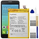 Replacement Battery TLp025A2 for MetroPCS Alcatel Fierce XL One Touch 5054N Battery Free Adhesive Tool