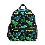 Cute Kid's Toddler Backpack Dinosaur Schoolbag for Boys Girls,Kindergarten Children Bag Preschool Nursery Travel Bag with Chest Clip(Childish Dinosaur)