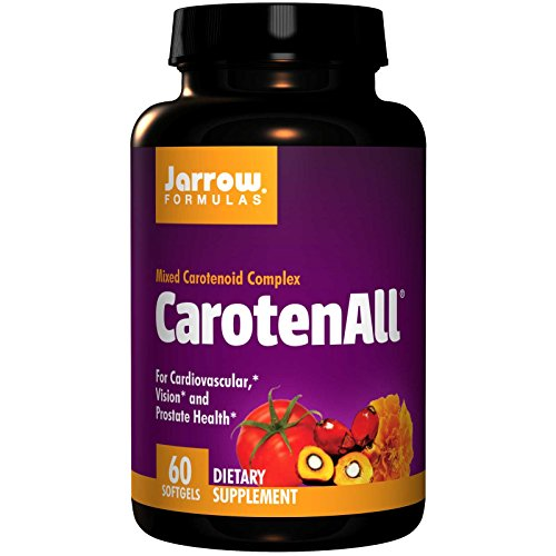 Jarrow Formulas, CarotenALL, Mixed Carotenoid Complex, 60 Softgels Pack of 3