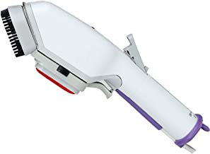 JYL Iron Garment Steamer,60S Fast Preheat, 2 in 1 Handheld Flat Ironing and Vertical Steaming, for Home and Travel Use with Carrying Case(White)