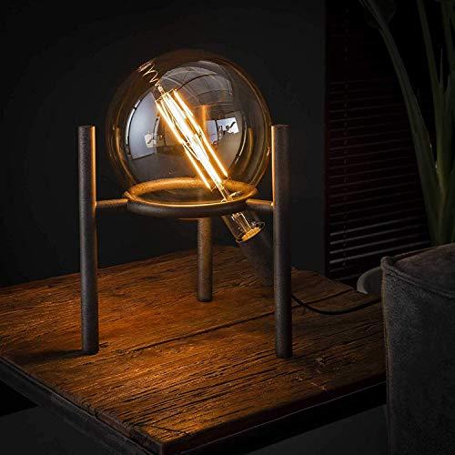 Tischlampe Nachttischlampe Industrial Saturn inkl. 1x Edison Glühbirne XL