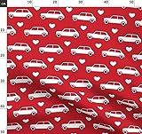 Mini Cooper, Herzen, Rot, Auto, Britisch, Vintage, Fahrzeug