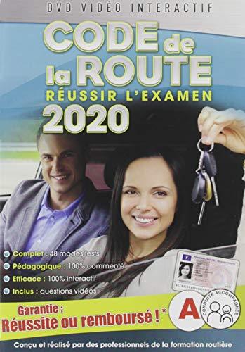 Code de la Route 2020, réussir l'examen Officiel [DVD Interactif]