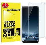 CaseExpert 2 Pack - CUBOT J5 Protector de Pantalla, Ultra Tanque Transparente Cristal 9H Cristal Templado Glass Protector de Pantalla para CUBOT J5 (2019)