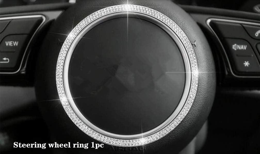 Weekly update NIUHURU Car Interior Trim Bling Accessories Q fit for S3 Popular overseas A3 Audi