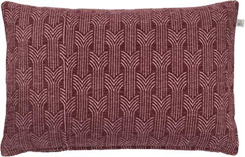 Dutch Decor kussen Chiel 40x60 cm Bordeaux - sierkussen - decoratief kussen - huishoudtextiel - decoratie