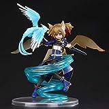Liiokiy Anime Figure Character Sword Art Online 2 Silica 1/8 Figura de acción Modelo Hecho A Mano Modelo Toys Estatuas de Arte Juegos Decoración de Anime Arte Regalo Figura Coleccionable Boxed 18cm