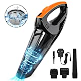 VACPOWER 6500pA Handheld Vacuum Cleaner, Cordless Handheld Vacuum with Rechargeable 2500mAh Battery