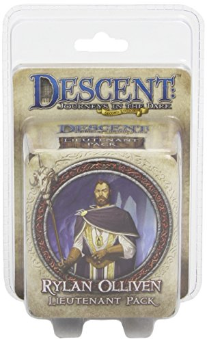 Descent 2nd Edition: Rylan Olliven Lieutenant Pack