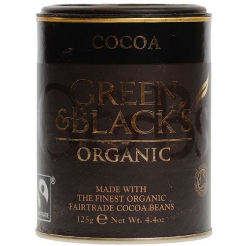 (10 PACK) - Green & Blacks - Organic Cocoa Powder | 125g | 10 PACK BUNDLE