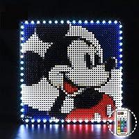 KCGNBQING ビルディングブロックモデルのためのライトセット - LEGO 31202と互換性のあるLEDライトキット、 いいえモデルを含めました ビルディングブロック/レゴ/パズルアセンブリ
