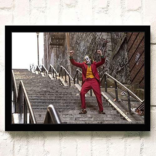 wen-shhen Puzzle de 1000 pièces, Puzzle pour Enfants, Puzzle Familial, Puzzle en Carton, jeu de Puzzle Art Mural Moderne Clown Clown Film mur Comme mur