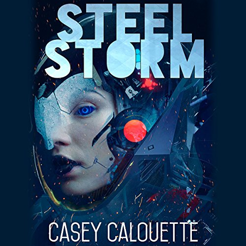 Steel Storm audiobook cover art