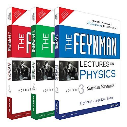 The Feynman Lectures on Physics - Vol. I, II & III Bundle